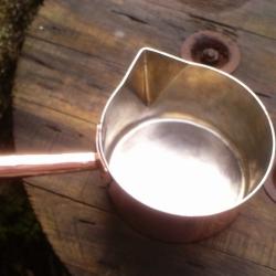 Re-tinned saucepan