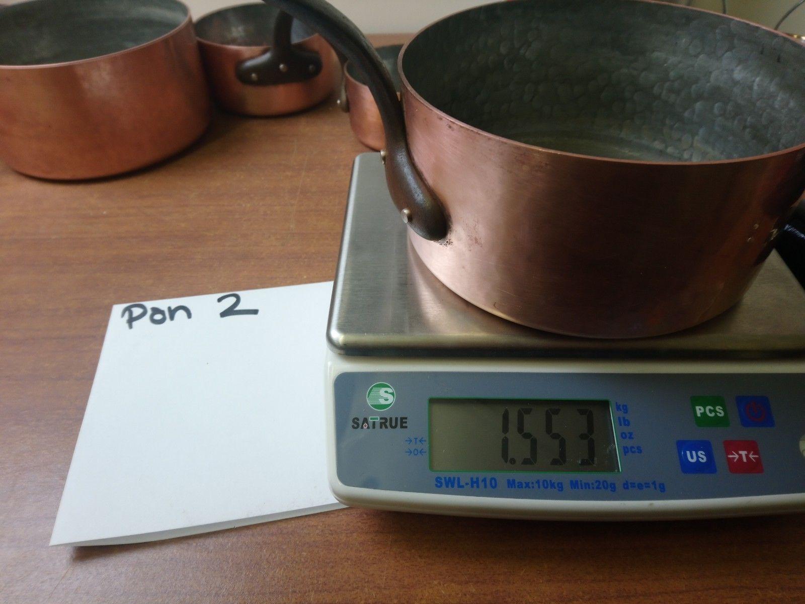 Heavy pan tinning.