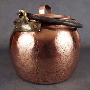 retinned copper cauldron