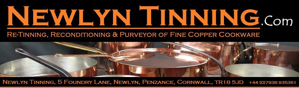 RETINNING COPPER POTS AND PANS UK